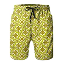 Vvw4 Snow Pattern Quick Dry Water Beach Board Shorts Bathing Swimming Trunks With Poket For Men