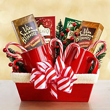 something for mr and mrs clause christmas gift basket for couples