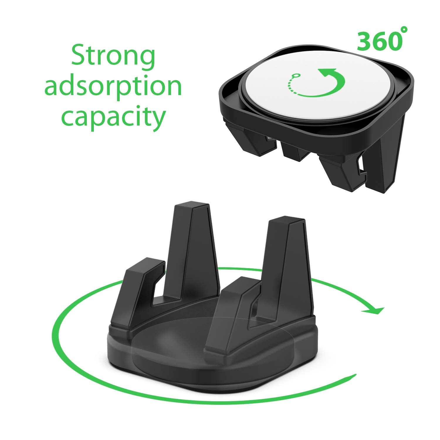 Google Pixel and Any Other Smartphone Car Phone Mount Jevtech Car Phone Holder Strong Sticky Gel Pad Compatible with Galaxy S7// S8// S9