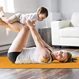 Trideer Non Slip TPE Yoga Mat 6mm, Recyclable and
