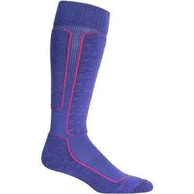 .com : Icebreaker Ski+ Light Over The Calf Sock - Women's : Sports & Outdoors