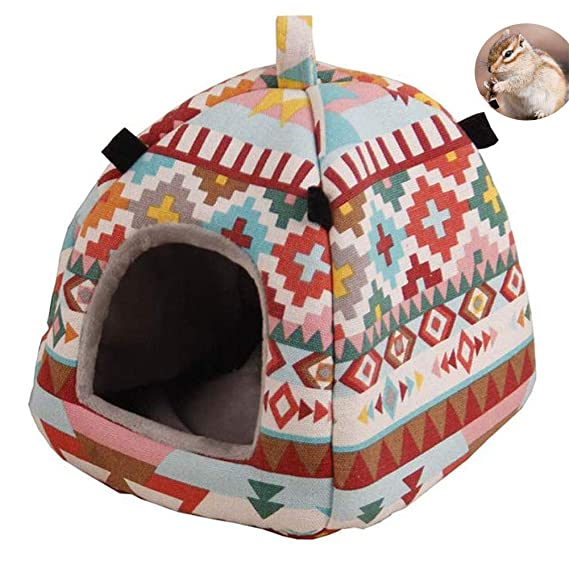 Dslxa Hamster House Bed, Pequeños Animales Cama Colgante, Invierno ...