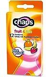Kondome chaps fruit & fun, 24 Stück, farbig und aromatisiert, Made in Germany, Breite 52 mm