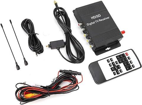 KIMISS Car TV Box, ATSC TV Tuner Receptor de TV digital Box ...