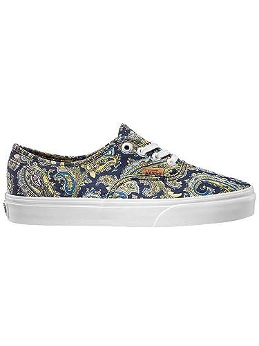 df9af677c0c7dc Amazon.com  Vans Athentic Unisex Shoes Pasley Dress Blues (4.0 US Men-5.5  US Women)  Shoes