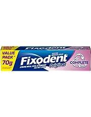 Fixodent 70 g Complete Original Denture Adhesive Cream