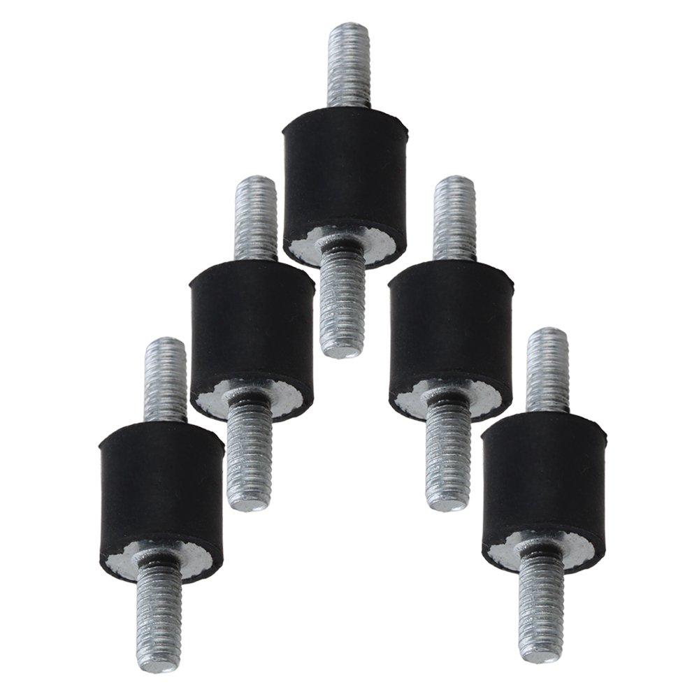 Yibuy - 5 Tornillos de Goma de 3 mm para Bomba etfshop YBY20181193