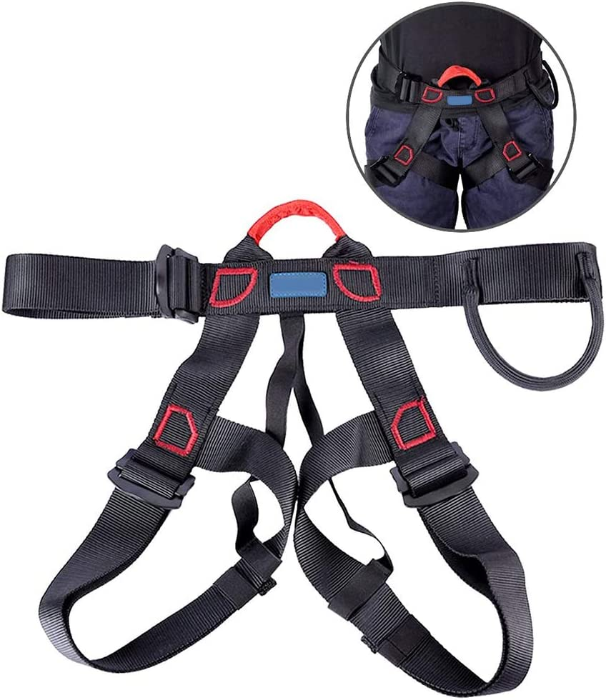 Arnés de escalada ajustable, cinturón de seguridad más ancho ...