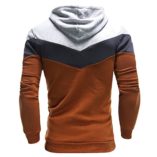 Winerer Schatz Herren Männer Kapuzenpullover Sweatjacke Streetwear Hoodie  Winter (XL, Camel)  Amazon.de  Bekleidung c1b7fe70b9