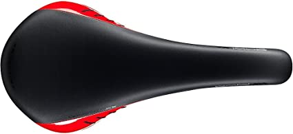 Fizik Aliante Gamma Saddle Maganese Rail Red White