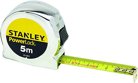 STANLEY Powerlock Tape 5m Metric Only 5 m
