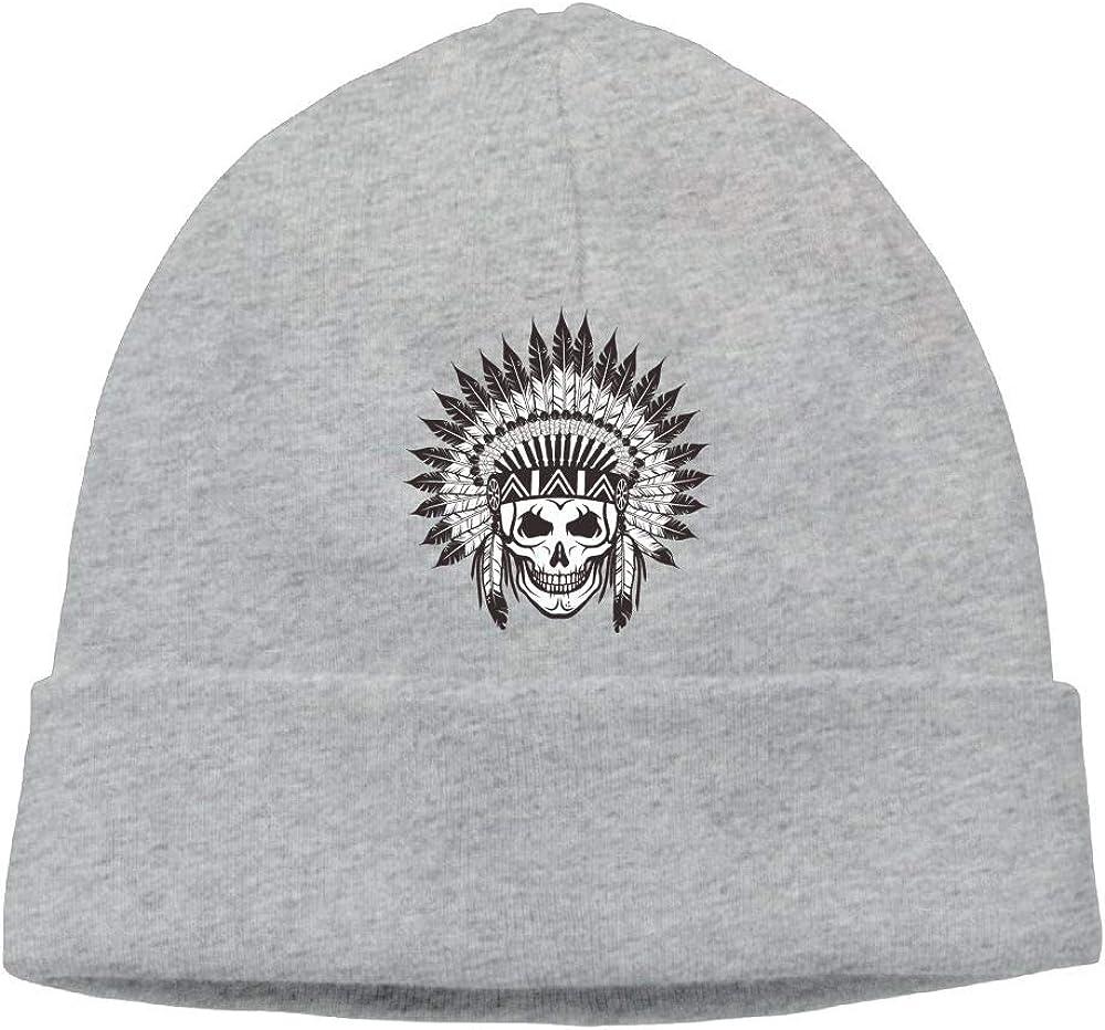 Oopp Jfhg Skull Tribal Beanies Knit Hat Ski Caps Mens