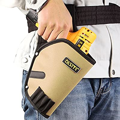 FASITE Cordless Drill Holster Tools Holder Pouch with Tool Bag PTN040