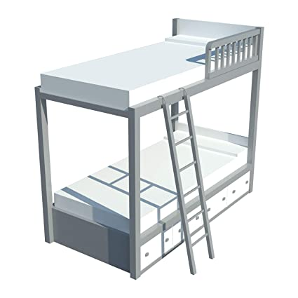 Amazon Com Diy Plans Build Your Own Bunk Bed With Storage Fun To