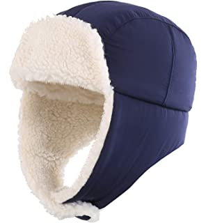 0503252dd59 Home Prefer Toddler Boys Girls Sherpa Earflap Hat Kids Winter Hat Snow Ski  Hat