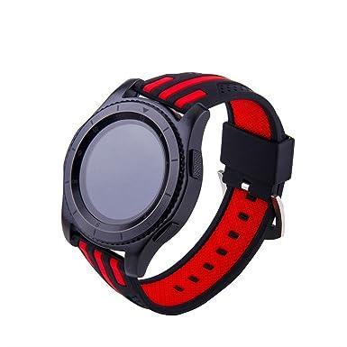 Beikoard Suave Silicona Reemplazo Correa Sport para Samsung Gear ...
