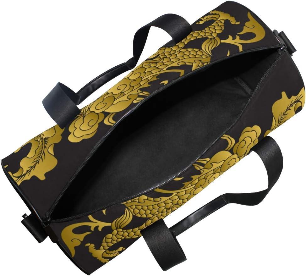 ADONINELP Travel Duffel Bag,Lightweight Durable Designed Gym Sports Bag Fashion Print Weekender Bag Large,Galaxy Stardust Elements This Image Furnished