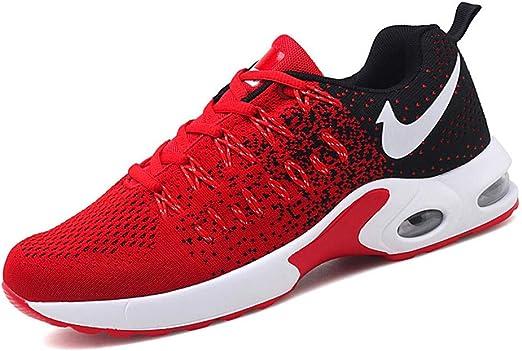 Willsky Zapatillas Deportivas para Hombre, Zapatos para Correr, Entrenamiento aéreo, ligereza, Fitness, Transpirable, Malla, Choque, Correr al Aire Libre, Zapatillas de Deporte atléticas,Red,47: Amazon.es: Hogar