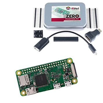 Amazon Com Raspberry Pi Zero W Wireless Zero Essentials Kit