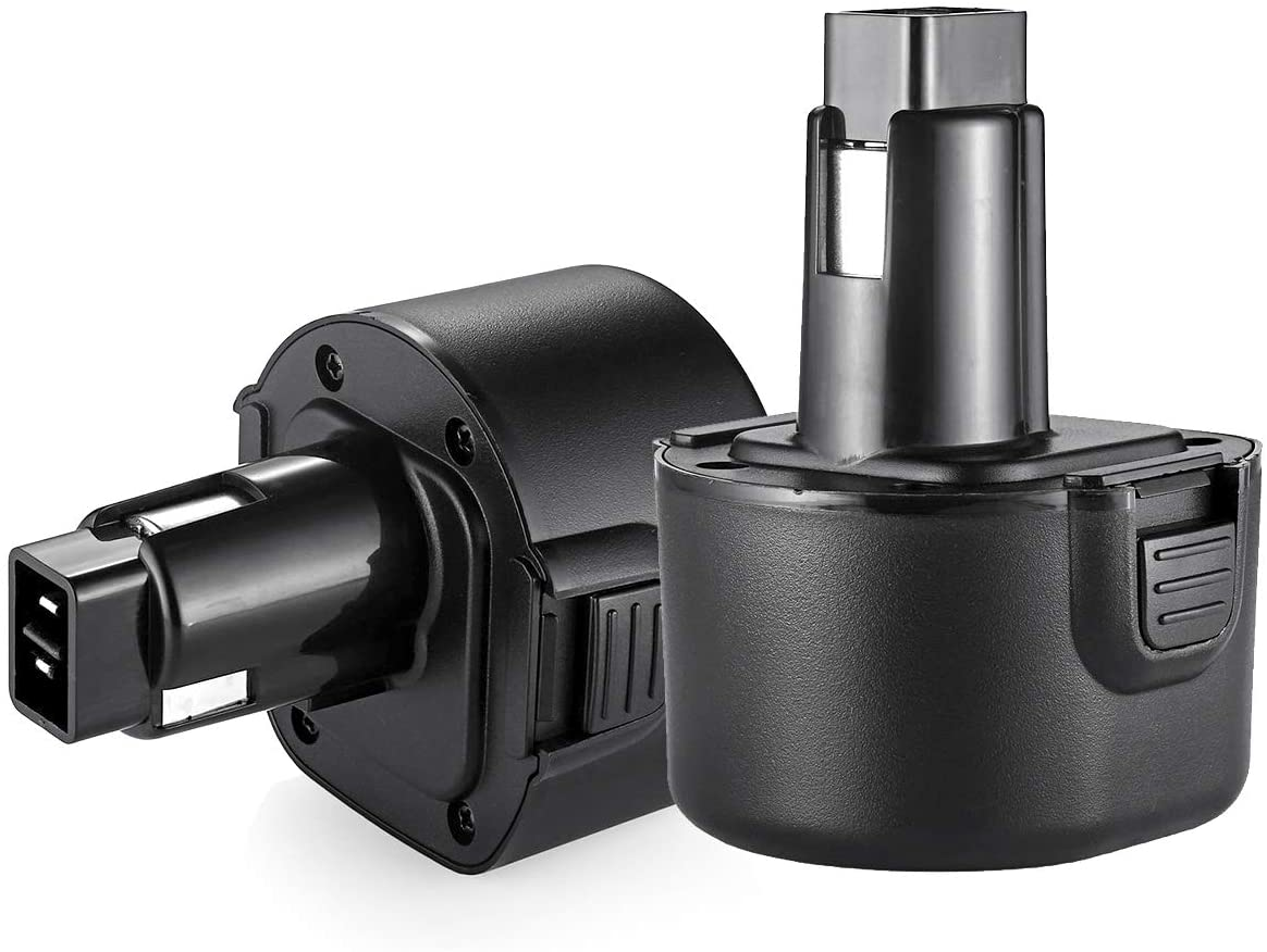 PS120 9.6V 3.5Ah Replacement for Black and Decker PS120 Battery Pack (Also Compatible with Dewalt Dw9061 Dw9062 De9036 De9062 Dw9614 Dw050,etc) Power Tool Battery 2 Packs