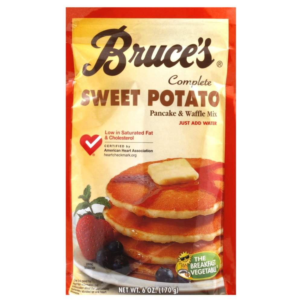 Bruce's Pancake Mix, Sweet Potato, 6.4-Ounce Packages (Pack of 12)