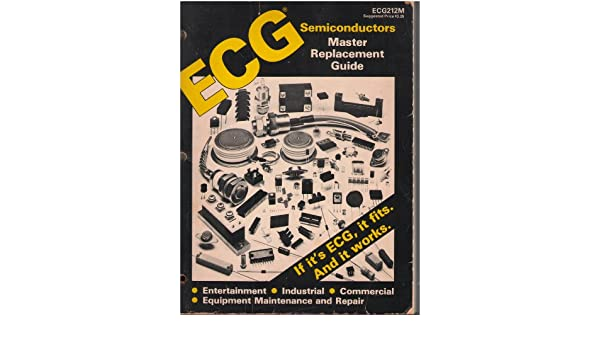 Ecg audio and video replacement parts and service aids.