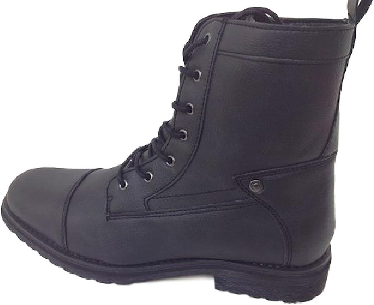 GUESS Men Mgtobie Boot, Side Zipper