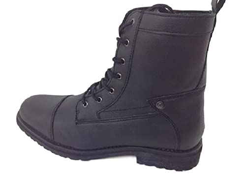 c2504f27972 Amazon.com | GUESS Men Mgtobie Boot, Side Zipper Black Size 11m ...