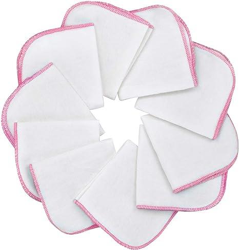 Mias paño de franela bebé - 10 toallas para bebé de franela de ...