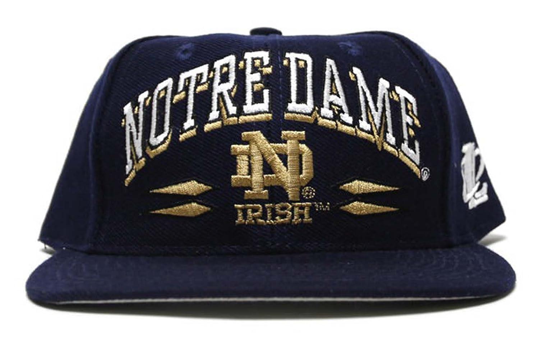 50f31585f0f9f ... promo code for amazon notre dame fighting irish logo athletic retro 90s snapback  hat cap sports