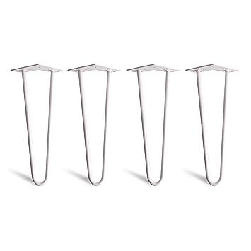 4 x Aguja de pelo Hairpin Legs - Mesa pies de patas estructura ...
