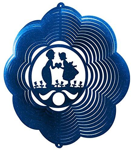 DUTCH BOY & GIRL KIDS Swirly Metal Wind - Girl Boy Dutch