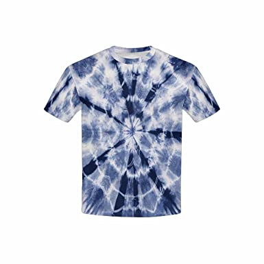 Häufig Amazon.com: INTERESTPRINT Kid's T-Shirts Material Dyed Batik (XS XI53