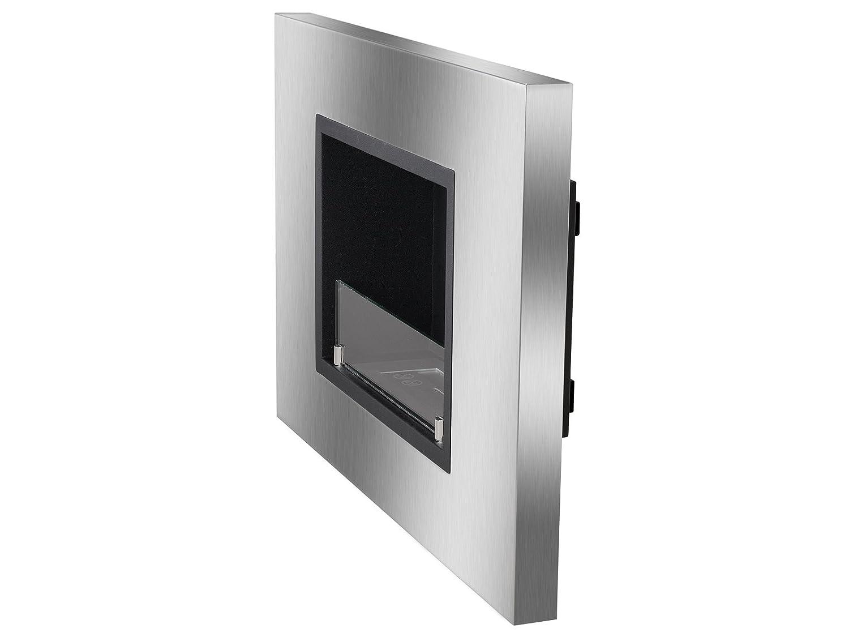 amazon com ignis quadra recessed ventless ethanol fireplace with
