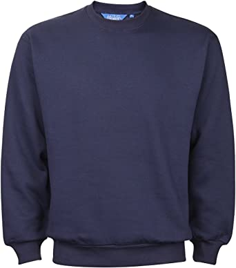 New Men/'s Casual Crew Neck Jumper Sweater Pullover Basic Blank Sweatshirts Tops