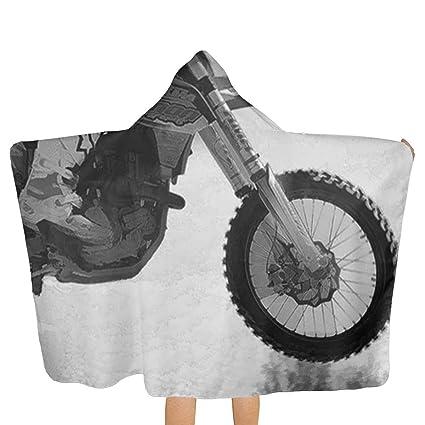 Amazon.com: LHLX HOME - Albornoz con capucha para motocross ...