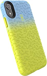 Speck Products CandyShell Fit iPhone XR Case, Periwinkle Ombre Antifreeze Yellow/Antifreeze Yellow