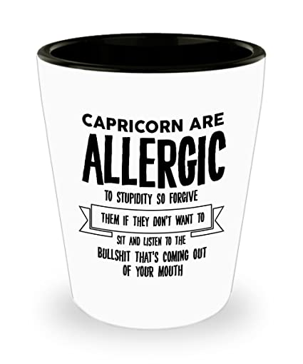Amazon com: Best Shot Glass Coffee Mug-Capricorn Gifts Ideas