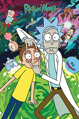 Rick And Morty - TV Show Poster / Print (WATCH! / Eyes) (Size: 24