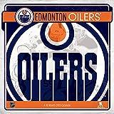 2019 Edmonton Oilers Wall Calendar