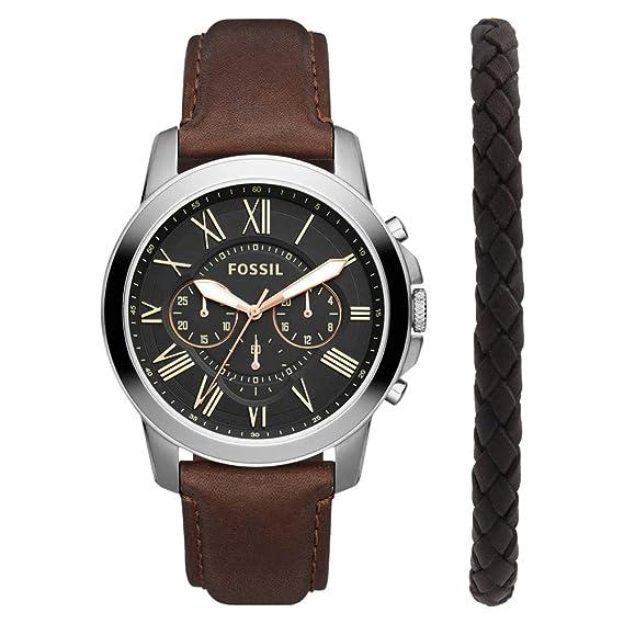 Fossil FS5390SET Reloj de Hombres: Amazon.es: Relojes