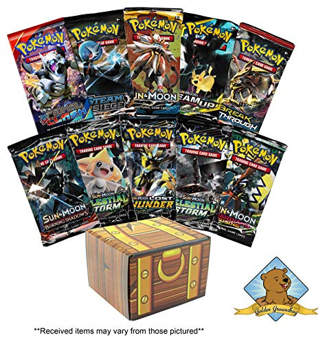 Pokemon TCG: 10 Booster Packs