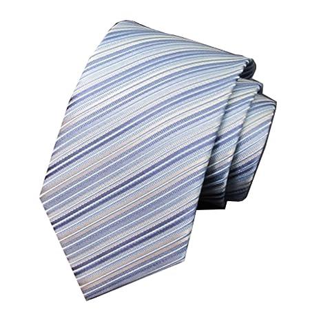 CuteLife Corbata Clásica para Hombre Hombre de Negocios Versión ...