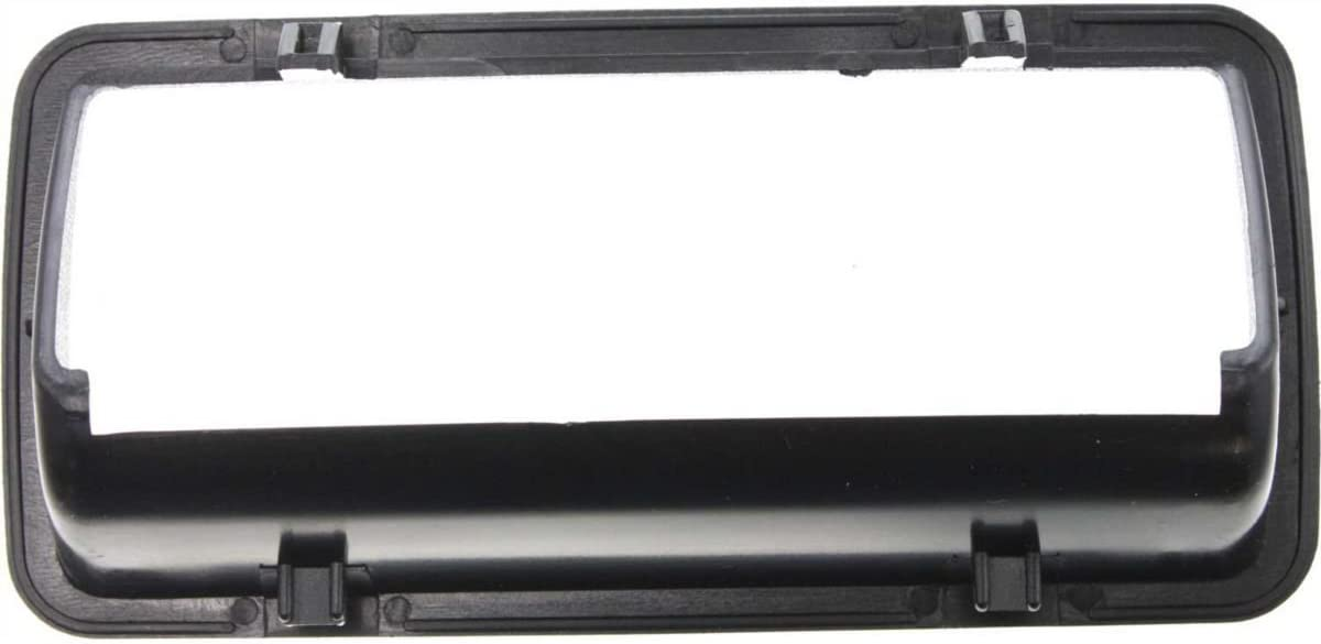 New Tailgate Handle Bezel Outer Black S10 Pickup Chevy GM1916103 15007219 Diften 102-A3912-X01