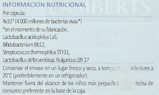 Lamberts Probioguard - 60 Tabletas: Amazon.es: Salud y cuidado ...