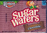 Keebler Sugar Wafers Chocolate 2.75-Ounce Packages (Pack of 12) For Sale