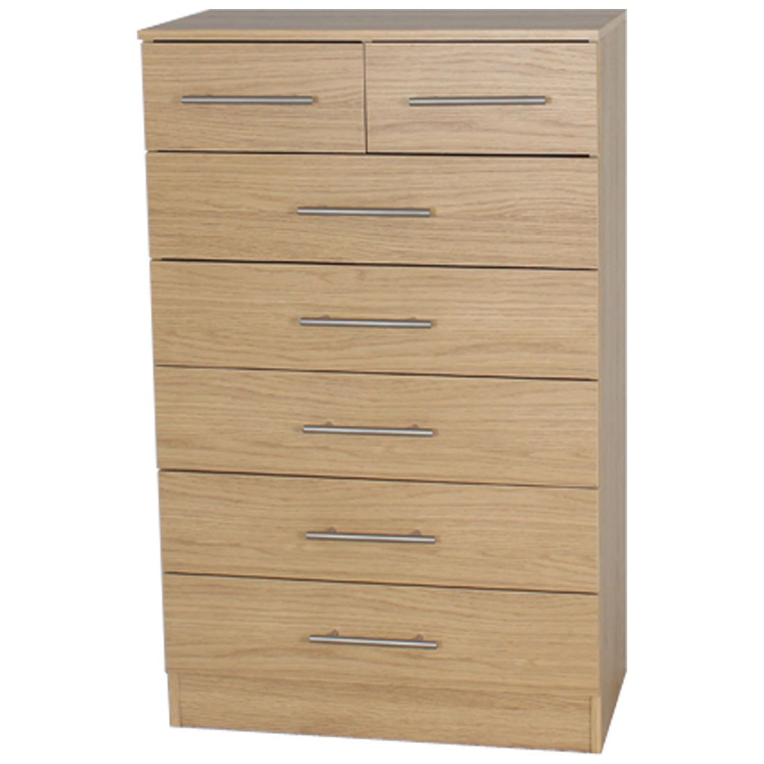 Devoted2Home Humber Bedroom Furniture with 3-Drawer Bedside Cabinet/Table, Wood, White, 35.20 x 34.29 x 59.2 cm AA510103HUM