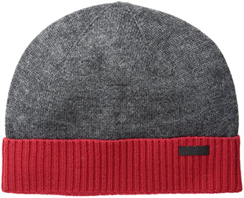 Wool Beanie Hat, Charcoal Heather, One Size ()