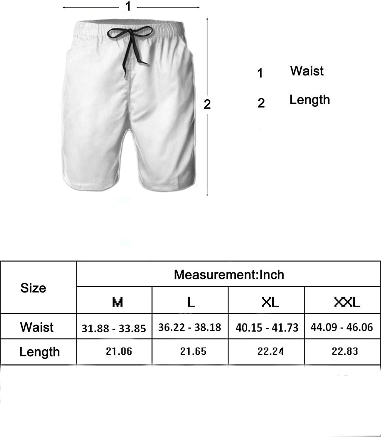 Manatee Mens Dry Fit Performance Short with Pockets