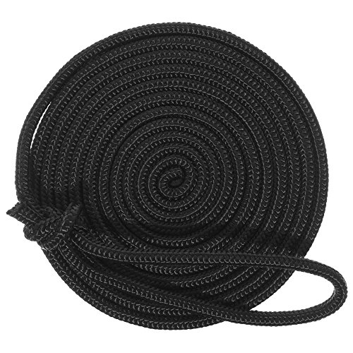 - West Coast Paracord 15-Foot Double-Braid 3/8-Inch Thick Nylon Dock Line